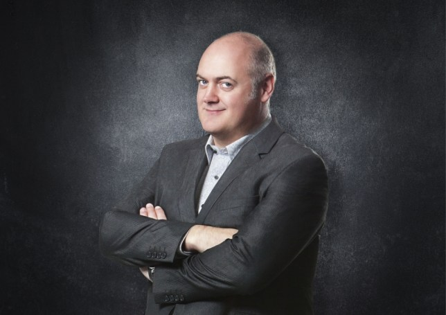 Television Programme: Dara O'Briain's Science Club with Dara O'Briain.  Programme Name: Dara O'Briain's Science Club - TX: n/a - Episode: n/a (No. n/a) - Embargoed for publication until: n/a - Picture Shows:  Dara O'Briain - (C) BBC - Photographer: Andrew Hayes-Watkins