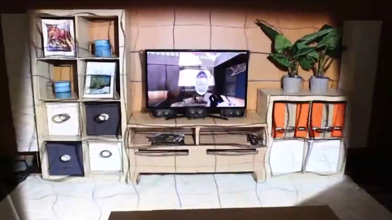 Microsoft demo Xbox IllumiRoom with Portal 2