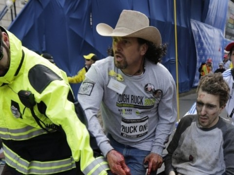 Boston marathon hero who lost both legs but helped identify suspects receives almost $500,000 in donations