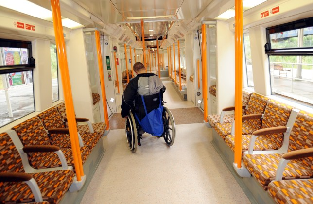 More than four in ten wheelchair users have been verbally or physically abused on trains (Picture: PA)