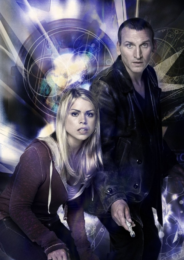 TELEVISION PROGRAMME: DOCTOR WHO. Picture Shows:  Rose Tyler (BILLIE PIPER) and Doctor Who  (CHRISTOPHER ECCLESTON)  CHRISTOPHER ECCLESTON plays The Doctor  in this new series coming soon to BBC ONE with BILLIE PIPER as Rose Tyler. Travelling through time and space, the Doctor and Rose come face to face with a number of new and exciting monsters - as well as battling with the Doctor's arch-enemy, the Daleks.   WARNING:  Use of this copyrighted image is subject to Terms of Use of BBC Digital Picture Service.  In particular, this image may only be used during the publicity period for the purpose of publicising DOCTOR WHO and provided BBC is credited.  Any use of this image on the internet or for any other puprose whatsoever, including advertising or other commercial uses, requires the prior written approval of the BBC. dwgeneric