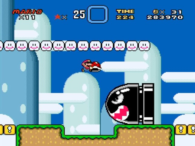Super Mario World – never bettered
