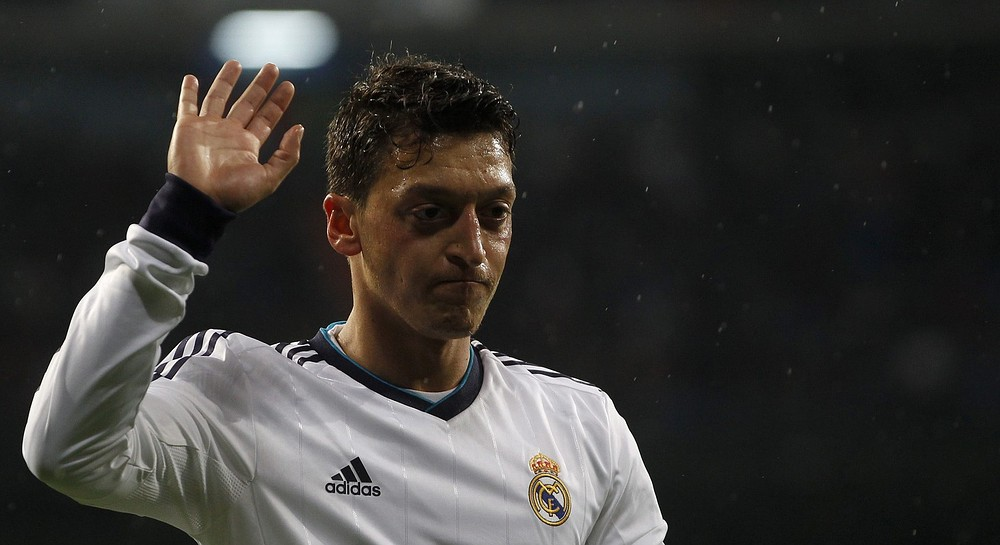 Hello big-time: Real Madrid's Mesut Ozil (Picture: REUTERS)