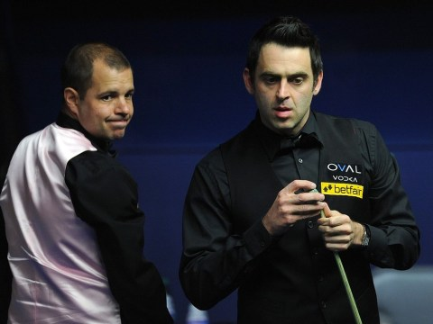 Ronnie O'Sullivan claims three-frame advantage over Barry Hawkins in superb World Championship final