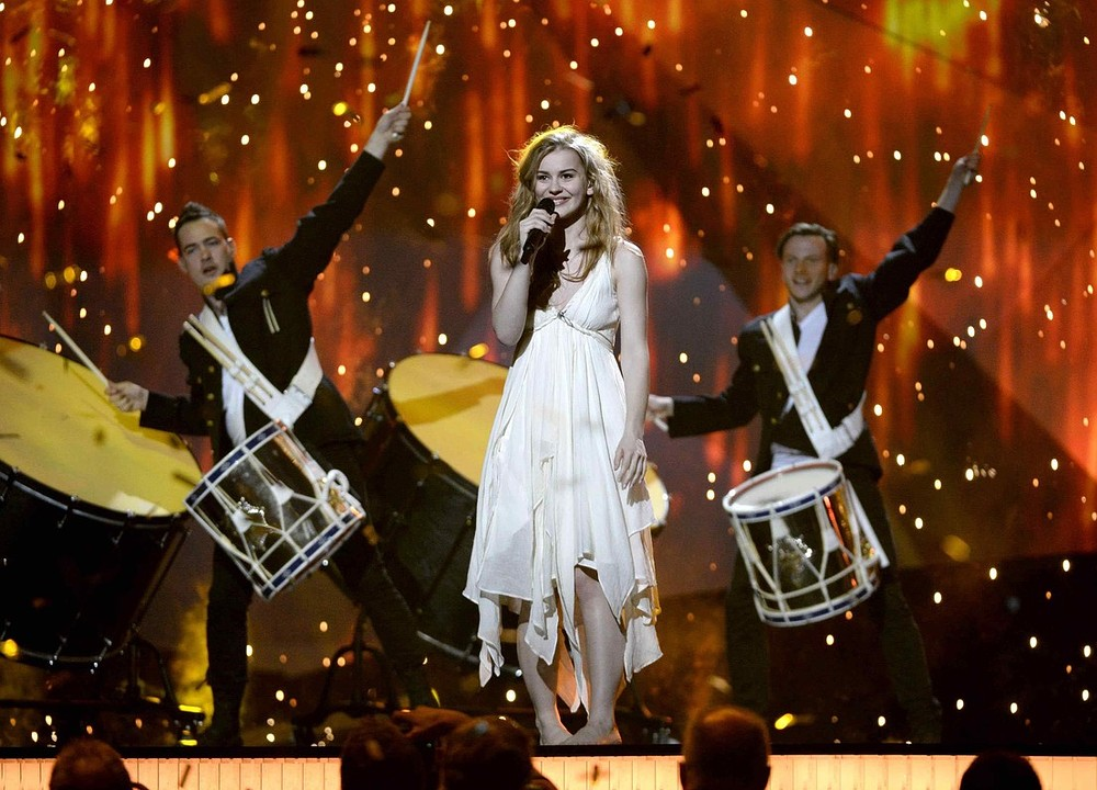 Denmark scores predicted Eurovision victory as Bonnie Tyler finishes a distant 19th