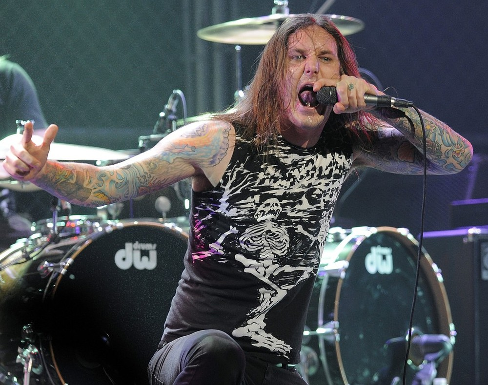 As I Lay Dying singer Tim Lambesis arrested for plotting to kill his wife