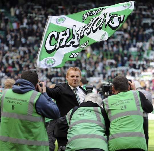 Neil Lennon has guided Celtic to successive SPL titles (Picture: PA)