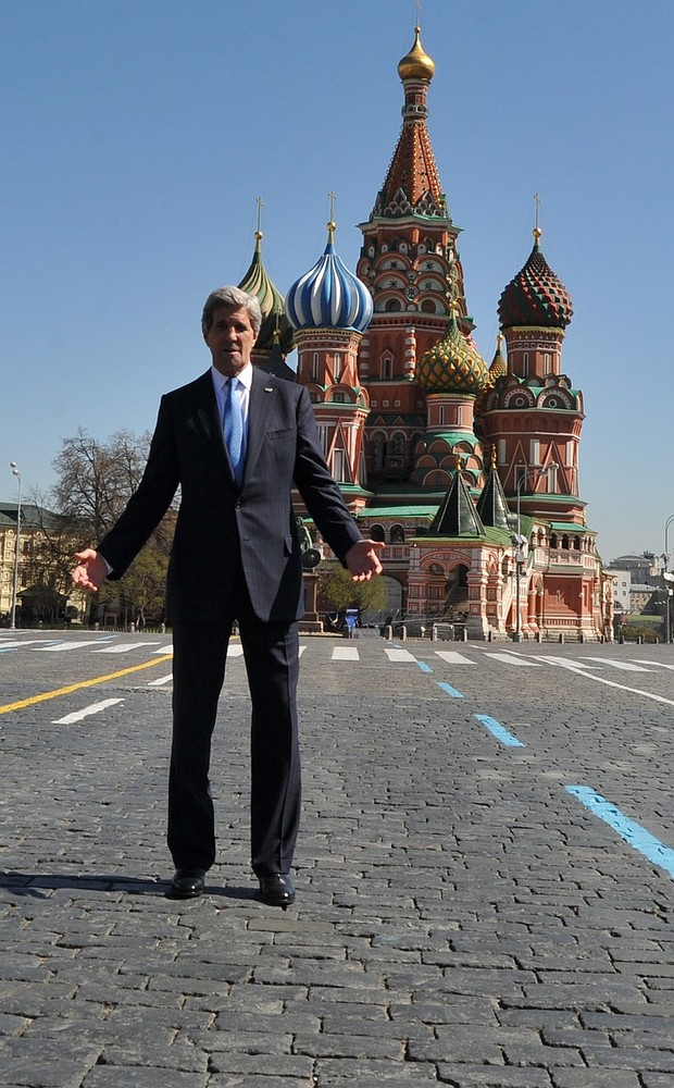John Kerry tells Vladimir Putin: Back US to stop Syrian conflict