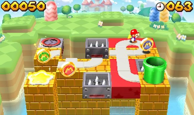 Mario And Donkey Kong: Minis On The Move (3DS) – cute on the outside, hard as nails on the inside