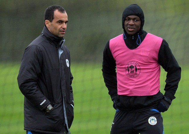 Decision time: Will Martinez or Kone be at the DW Stadium next season? (Picture: AFP/Getty Images)