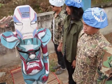 Is this Iron Man 3 parody trailer better than the original?