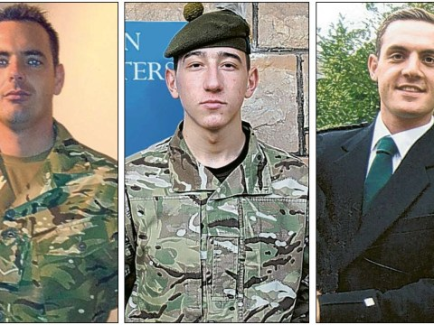 David Cameron laments 'high price' of Afghanistan operations as three British soldiers killed by roadside bomb