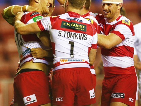 Wigan 'delighted' after crushing win over Salford in Super League