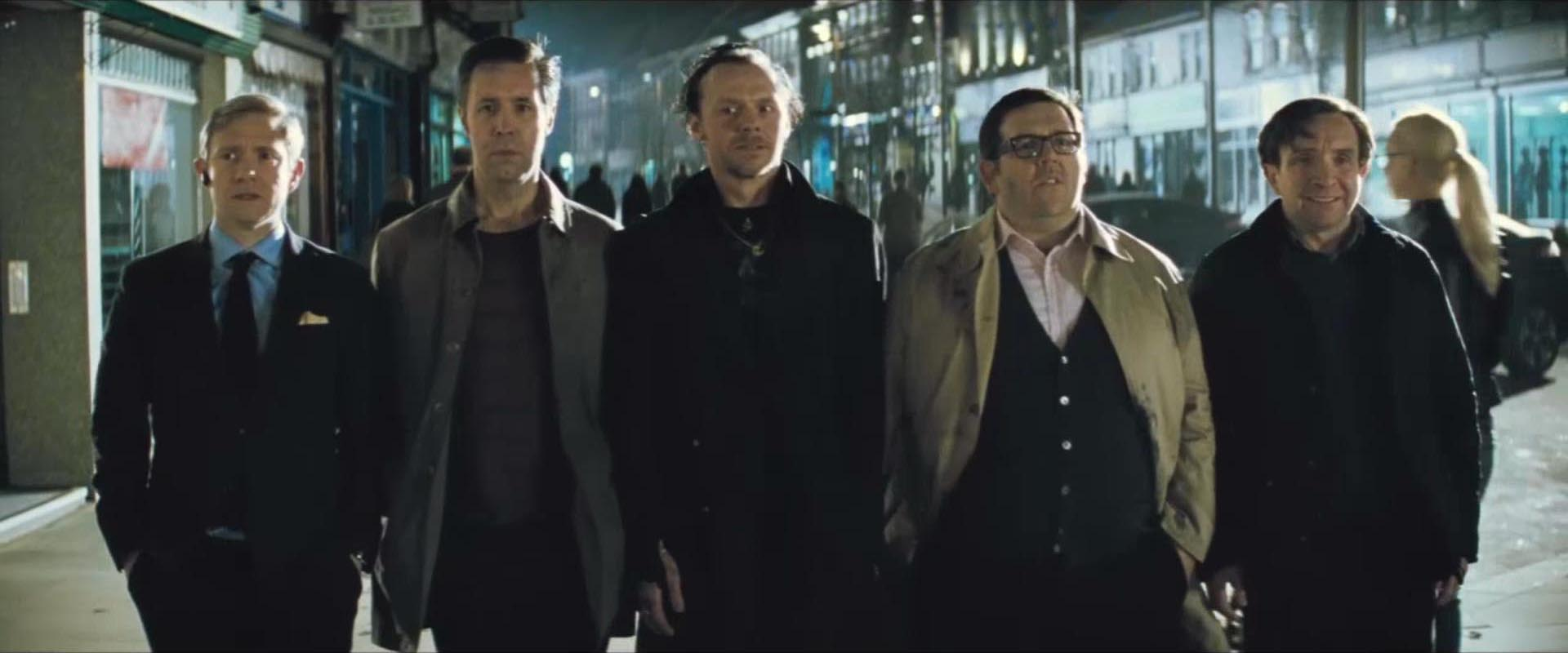 The World's End  revolves around an epic pub crawl interrupted  by an alien invasion (Picture: Focus Features)