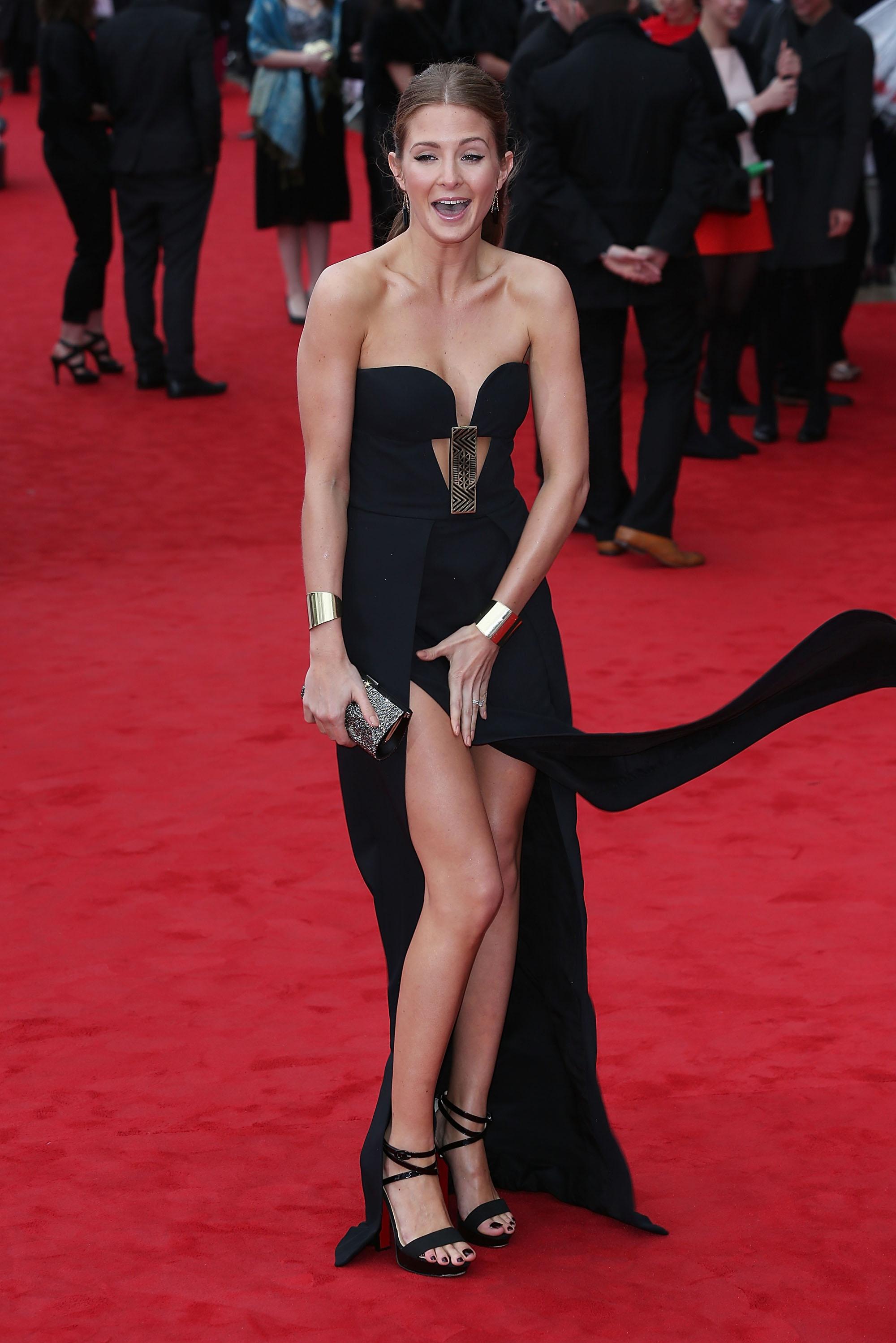 Bafta TV Awards: Millie Mackintosh 'Professor Green writes songs in the bath'