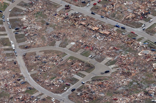The search for survivors and the dead in Oklahoma City is 'almost complete' (Picture: EPA)