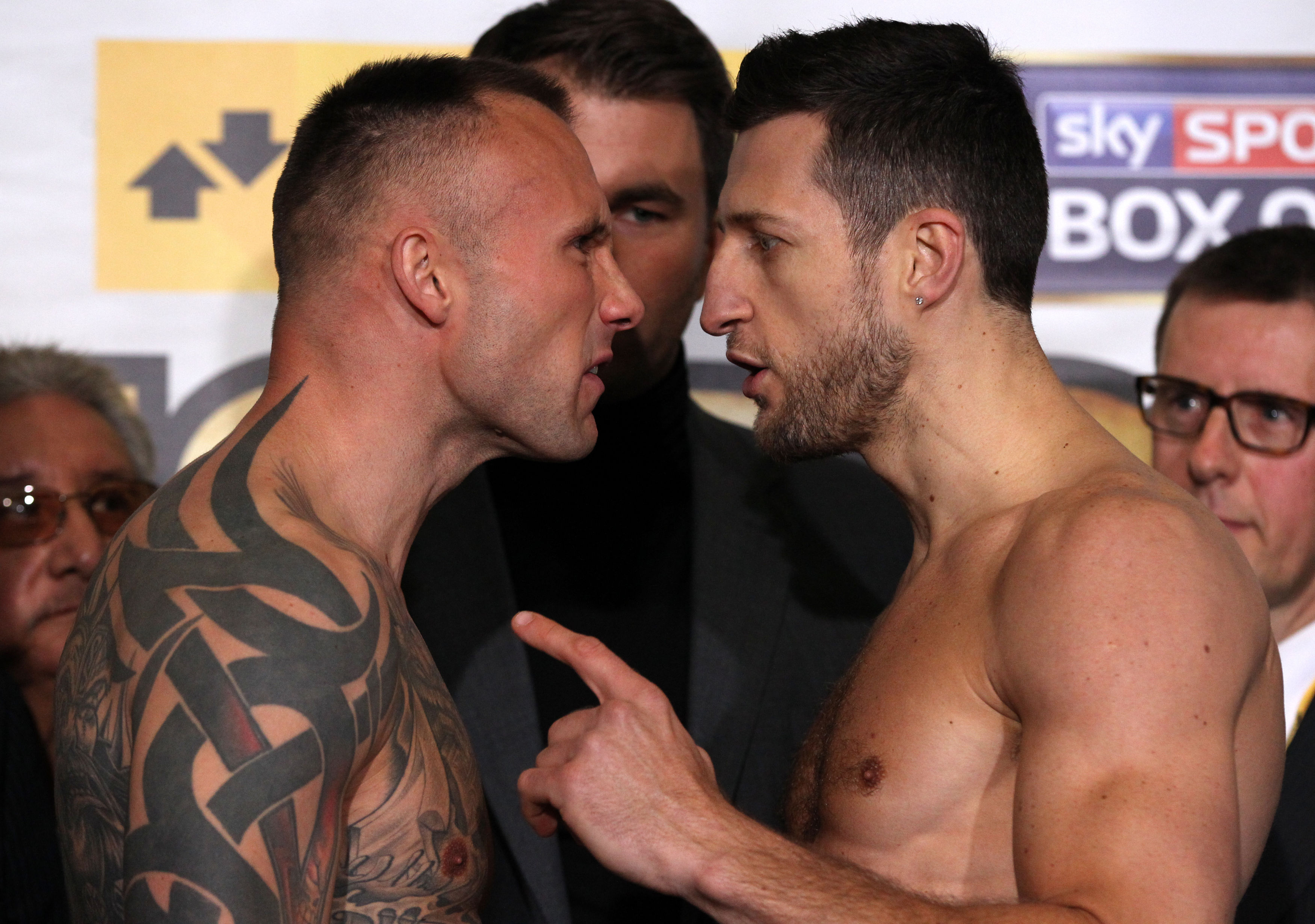 Carl Froch vows to crush Mikkel Kessler and force him into early retirement
