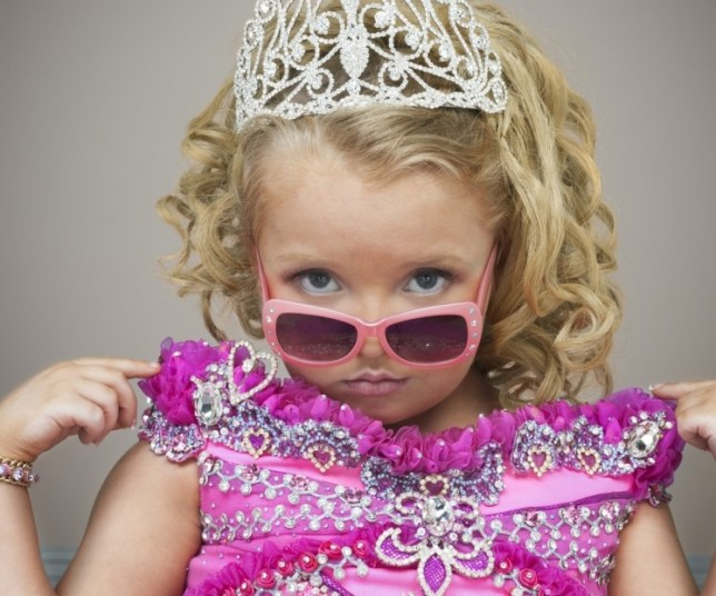 Here Comes Honey Boo Boowas oddly addictive (Picture: TLC)