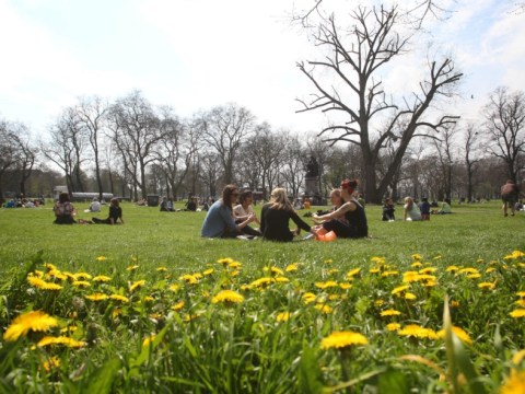 Temperatures set to rise for bank holiday following coldest April in two decades