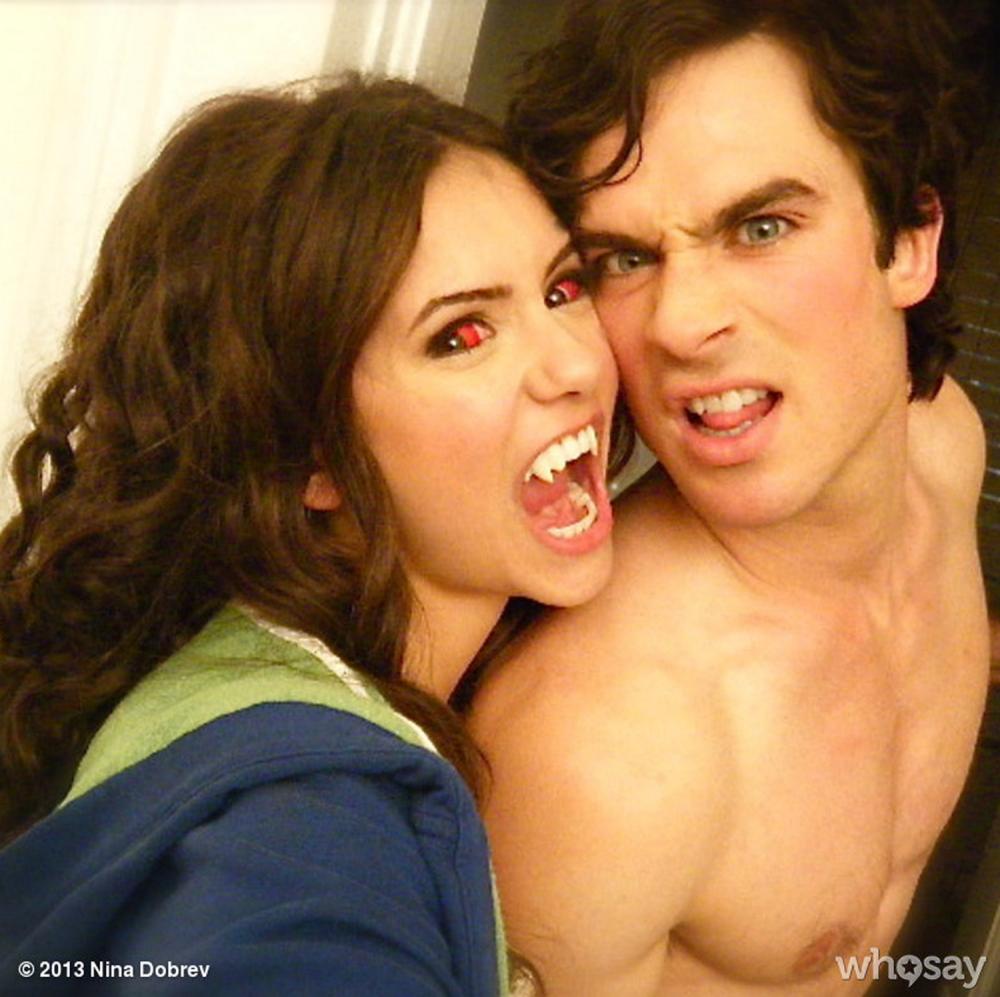 Vampire Diaries' Ian Somerhalder and Nina Dobrev 'break up' after three years