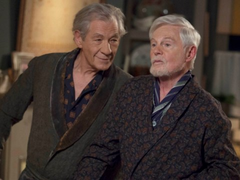 Sir Ian McKellen wants to have a bedroom scene with his Vicious co-star Sir Derek Jacobi