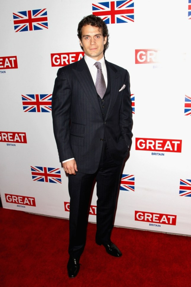 Actor Henry Cavill attends the GREAT British Film Reception