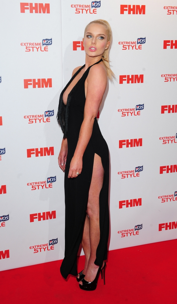 Helen Flanagan arrives at FHM's 100 Sexiest Women in the World Party in association with VO5 Extreme Style at the Sanderson Hotel  in London. PRESS ASSOCIATION Photo. Picture date: Wednesday May 1, 2013. Photo credit should read: Ian West/PA Wire
