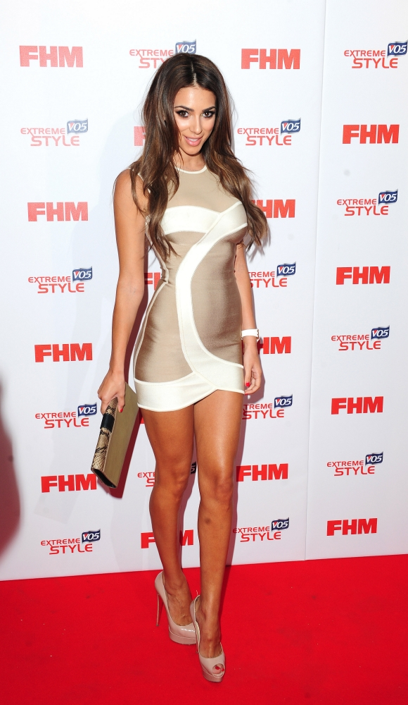 Georgia Salpa arrives at FHM's 100 Sexiest Women in the World Party in association with VO5 Extreme Style at the Sanderson Hotel  in London. PRESS ASSOCIATION Photo. Picture date: Wednesday May 1, 2013. Photo credit should read: Ian West/PA Wire