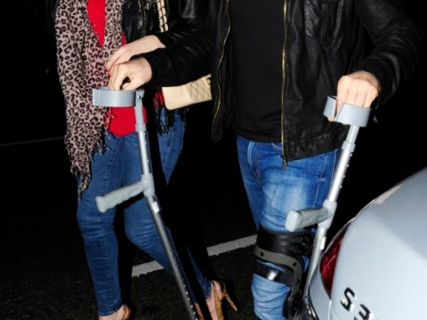 Danny Cipriani enjoys first night out since bus smash at Beyonce concert with doting girlfriend Kelly Brook