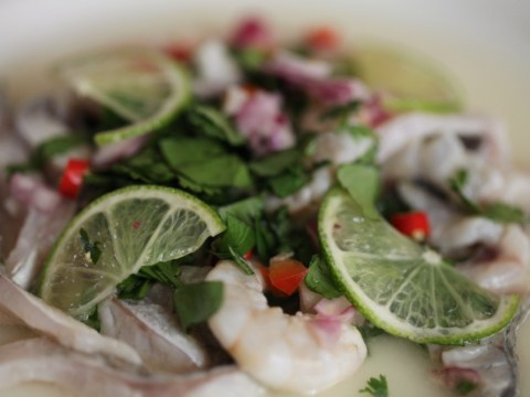 How to cook the ultimate ceviche: Peruvian sushi