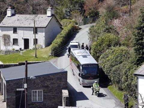Gallery: April Jones jury visit Mark Bridger's home