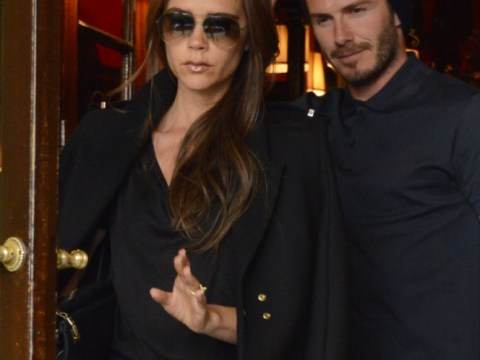 Victoria Beckham goes casual for romantic lunch date with David in Paris