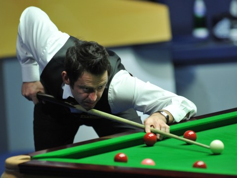 Ronnie O'Sullivan makes magical 147 to win Welsh Open title… and he pots crucial balls left-handed