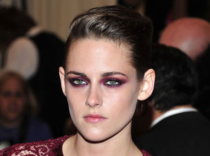 "Kristen Stewart attends The Metropolitan Museum of Art's Costume Institute benefit celebrating ""PUNK: Chaos to Couture"" on Monday May 6, 2013 in New York. (Photo by Charles Sykes/Invision/AP)"