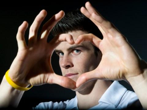 Gareth Bale trademarks heart celebration for clothing and bag range