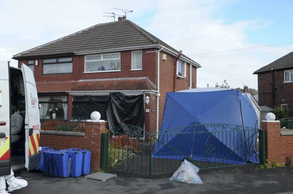 Widower, 84, left for dead by killer dressed as a ghost