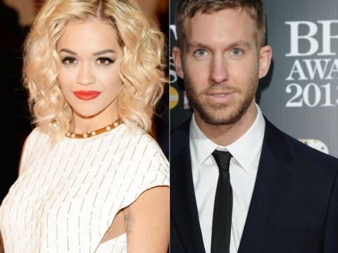 'Smitten' Rita Ora 'ditches Dave Gardner and moves on to Calvin Harris'