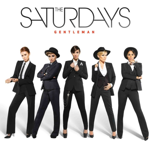 Gentleman sleeve for new Saturdays single called Gentleman. The song will be getting first play on Grimmy on R1 tomorrow morning