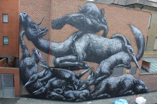 Street art feature