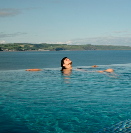 St Brides spa hotel in Wales