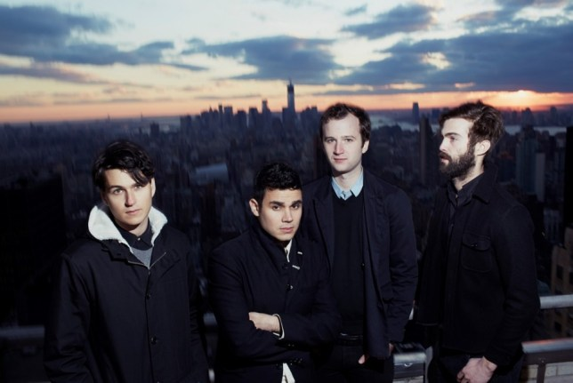 Vampire Weekend's Ezra Koenig, Rostam Batmanglij, Chris Baio  and Chris Tomson (Picture: Alex John Beck)