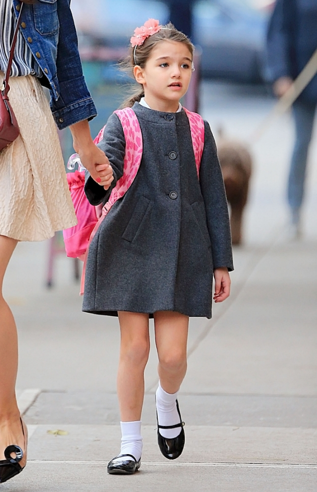 Tom Cruise and Katie Holmes' daughter Suri Cruise 'to launch lucrative fashion line aged 7'