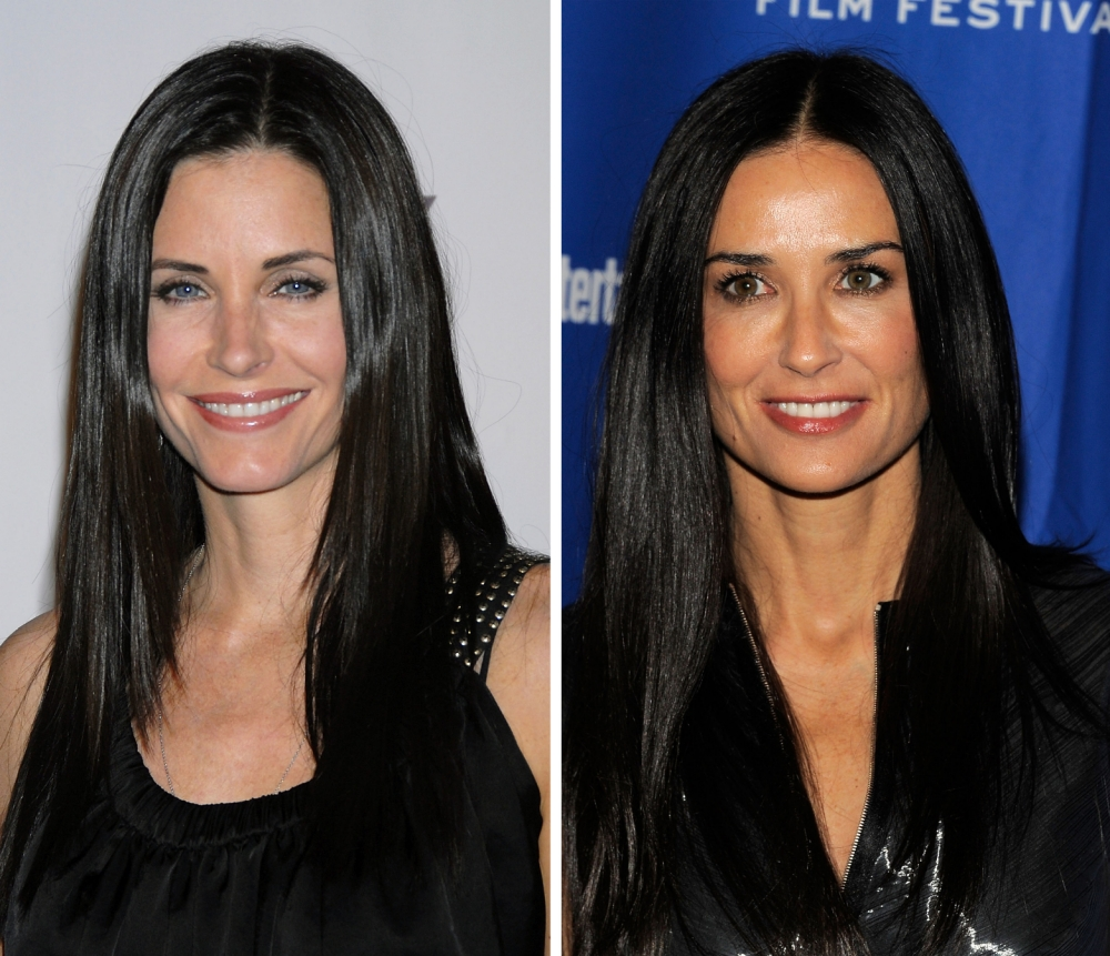 Top 5 celebrity lookalikes: From Demi Moore and Courteney Cox to Carey Mulligan and Michelle Williams