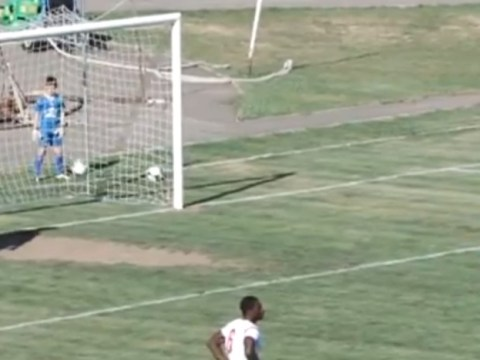 Goalkeeper's horrific own goal error leaves team-mates baffled