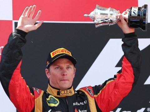 'Happy' Kimi Raikkonen will stick with Lotus, insists team owner