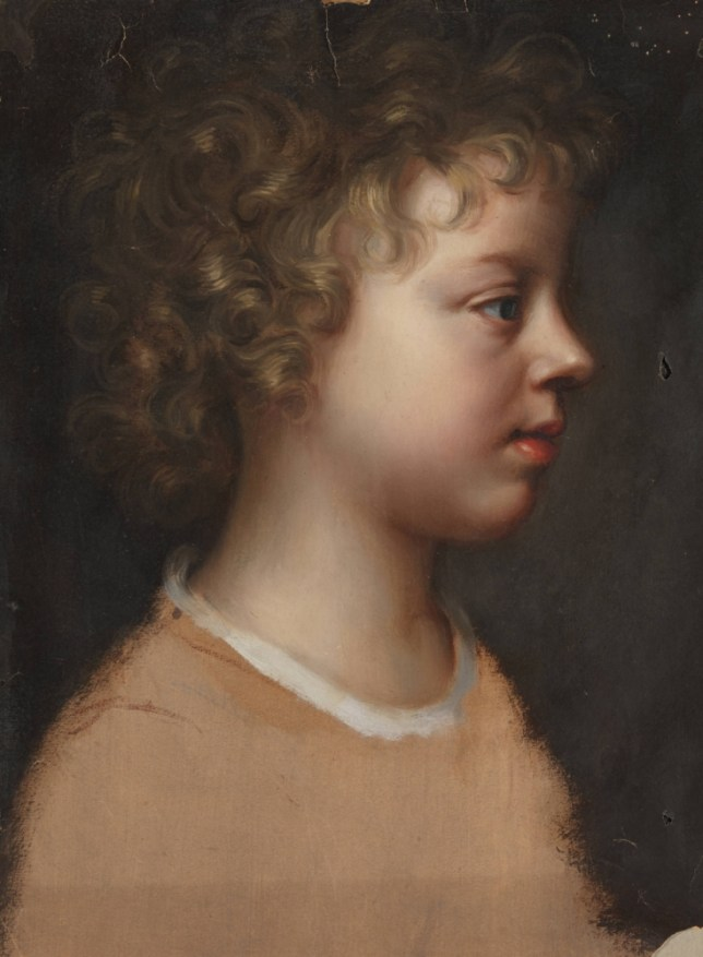 Mary Beale's portrait of her son, Bartholomew, 1660 (Picture: Tate)