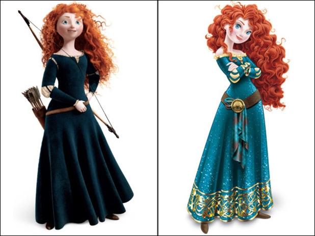 Brave Princess Merida makeover