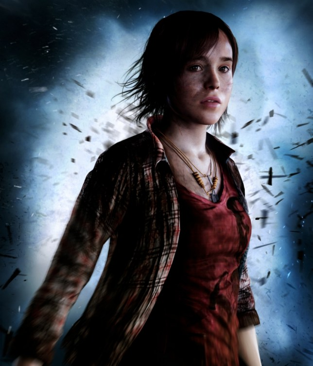 Ellen Page plays the lead character in a new PS3 game, Beyond: Two Souls (Picture: Sony)