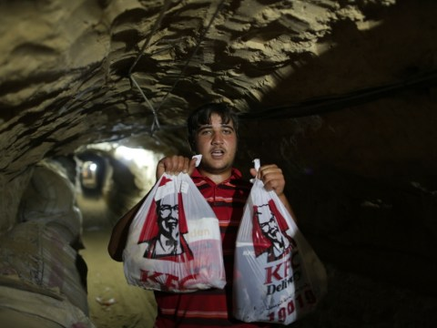 KFC smuggled into Gaza through tunnels from Egypt