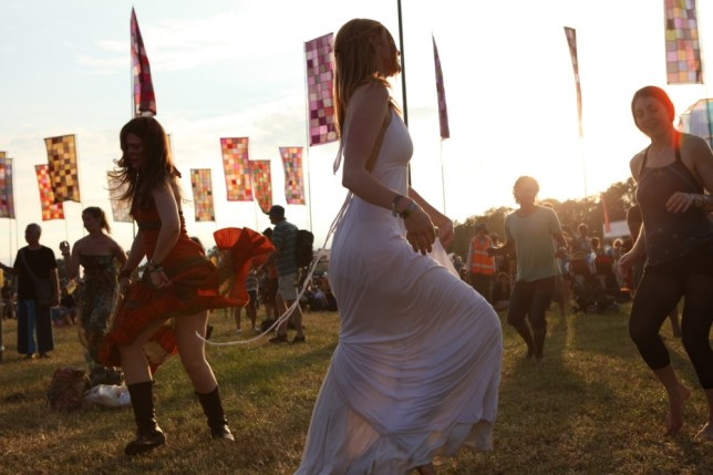 Revellers at last year's Womad have the pioneers of Glastonbury in 1970 to thank for the ever-growing trend of summer festivities (Picture: Suzie M Blake)